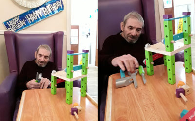 Creative construction at Sonya Lodge Residential Care Home