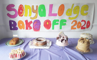 Staff Bake Off at Sonya Lodge Residential Care Home
