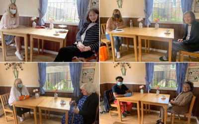 Family visits at Sonya Lodge Residential Care Home