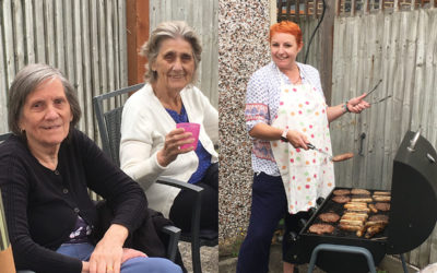 Sonya Lodge Residential Care Home hosts garden barbecue