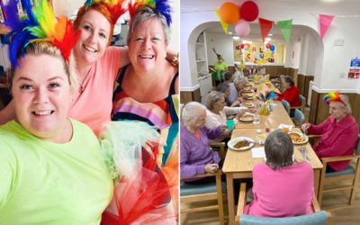 Carnival vibes at Sonya Lodge Residential Care Home