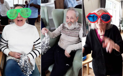 Getting in the groove at Sonya Lodge Residential Care Home