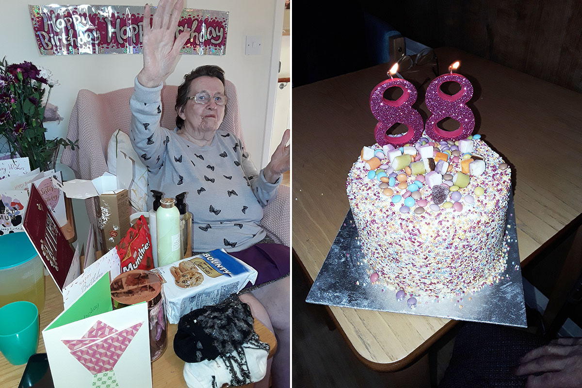 Birthday wishes to Eileen at Sonya Lodge Residential Care Home