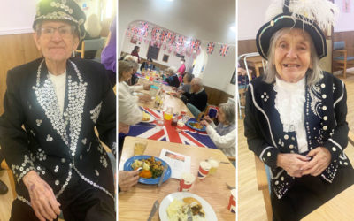 Cockney Day fun at Sonya Lodge Residential Care Home