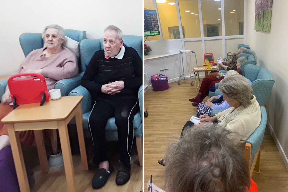 Race afternoon at Sonya Lodge Residential Care Home