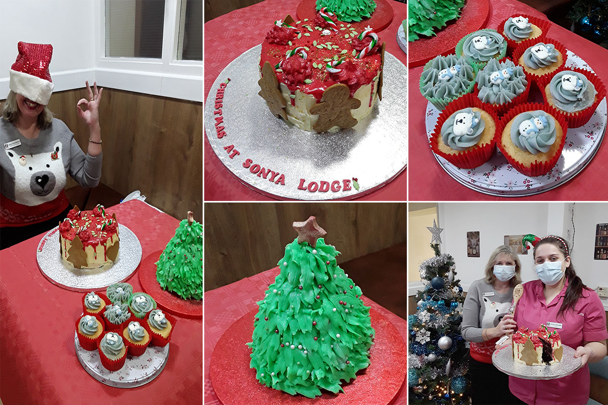Sonya Lodge Residential Care Home hosts Christmas Bake Off