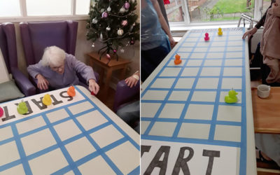 Going quackers at Sonya Lodge Residential Care Home