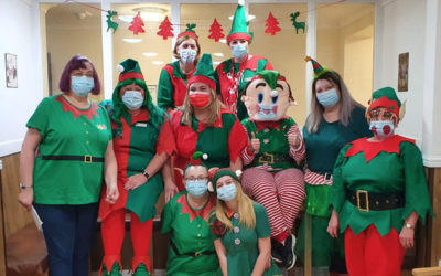 Celebrating National Elf Day at Sonya Lodge Residential Care Home