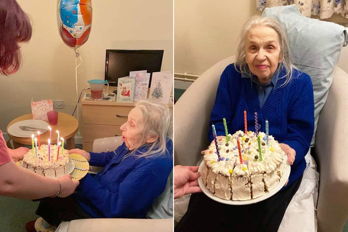Birthday fun at Sonya Lodge Residential Care Home