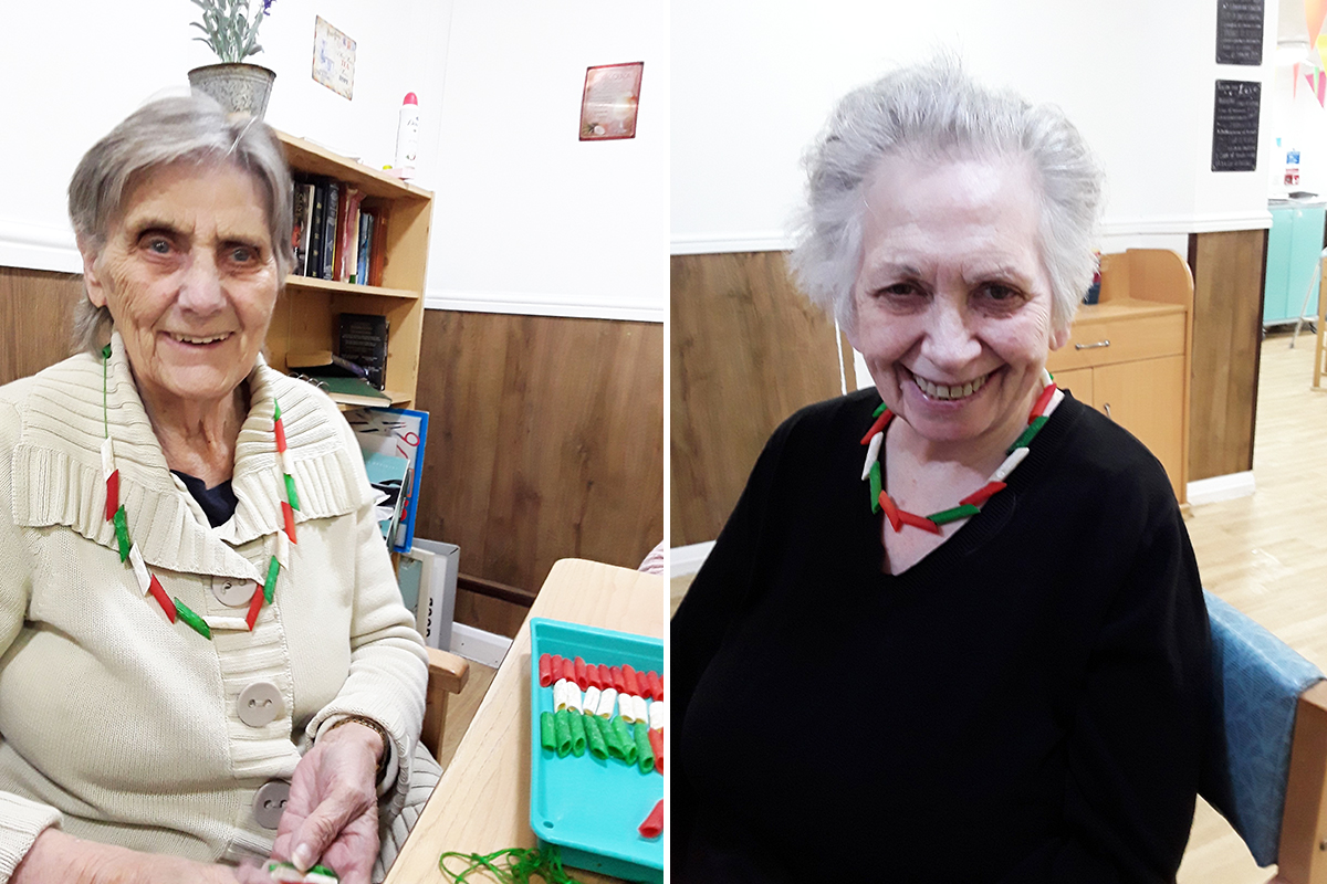 Sonya Lodge Residential Care Home residents enjoy Italian Cruise