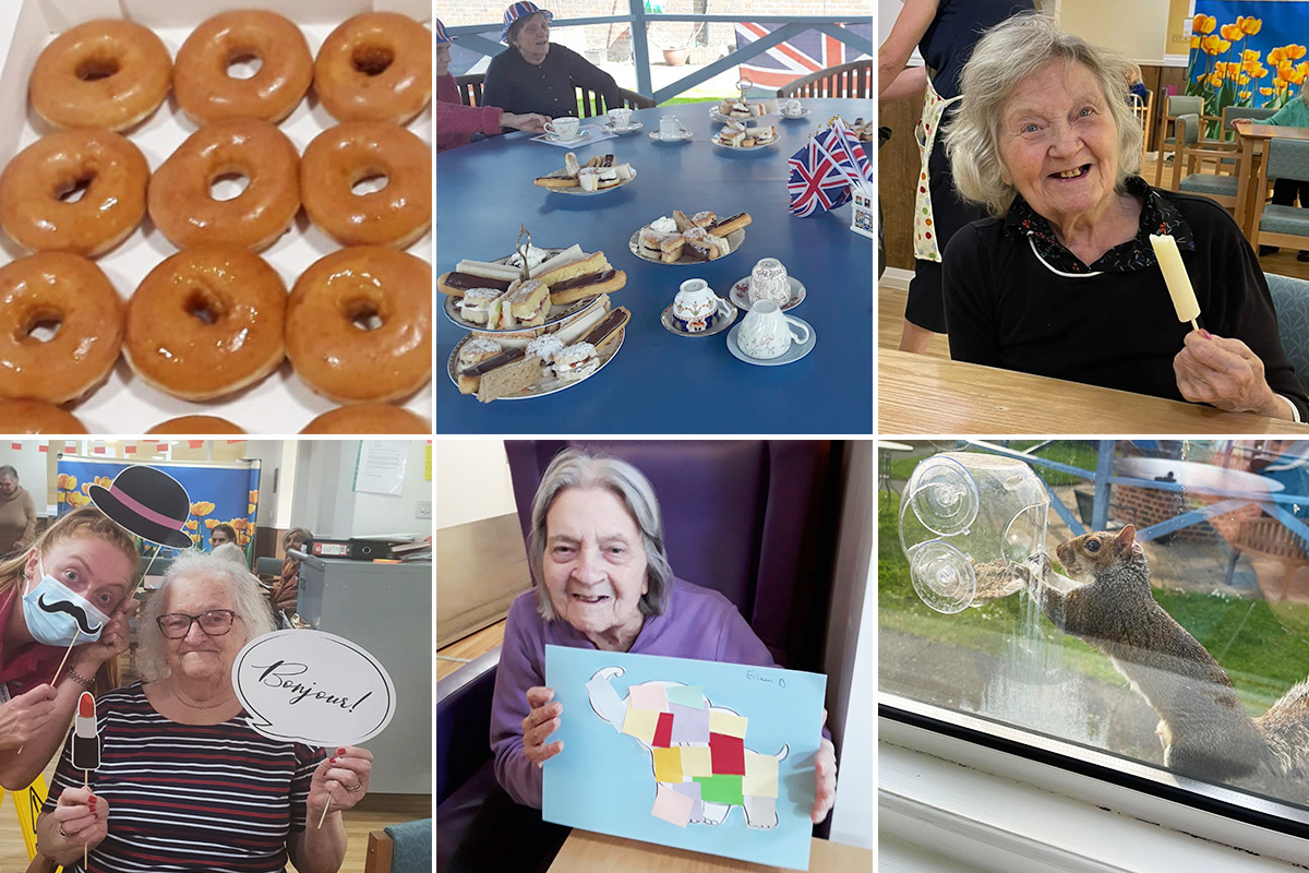 From doughnuts to squirrels at Sonya Lodge Residential Care Home