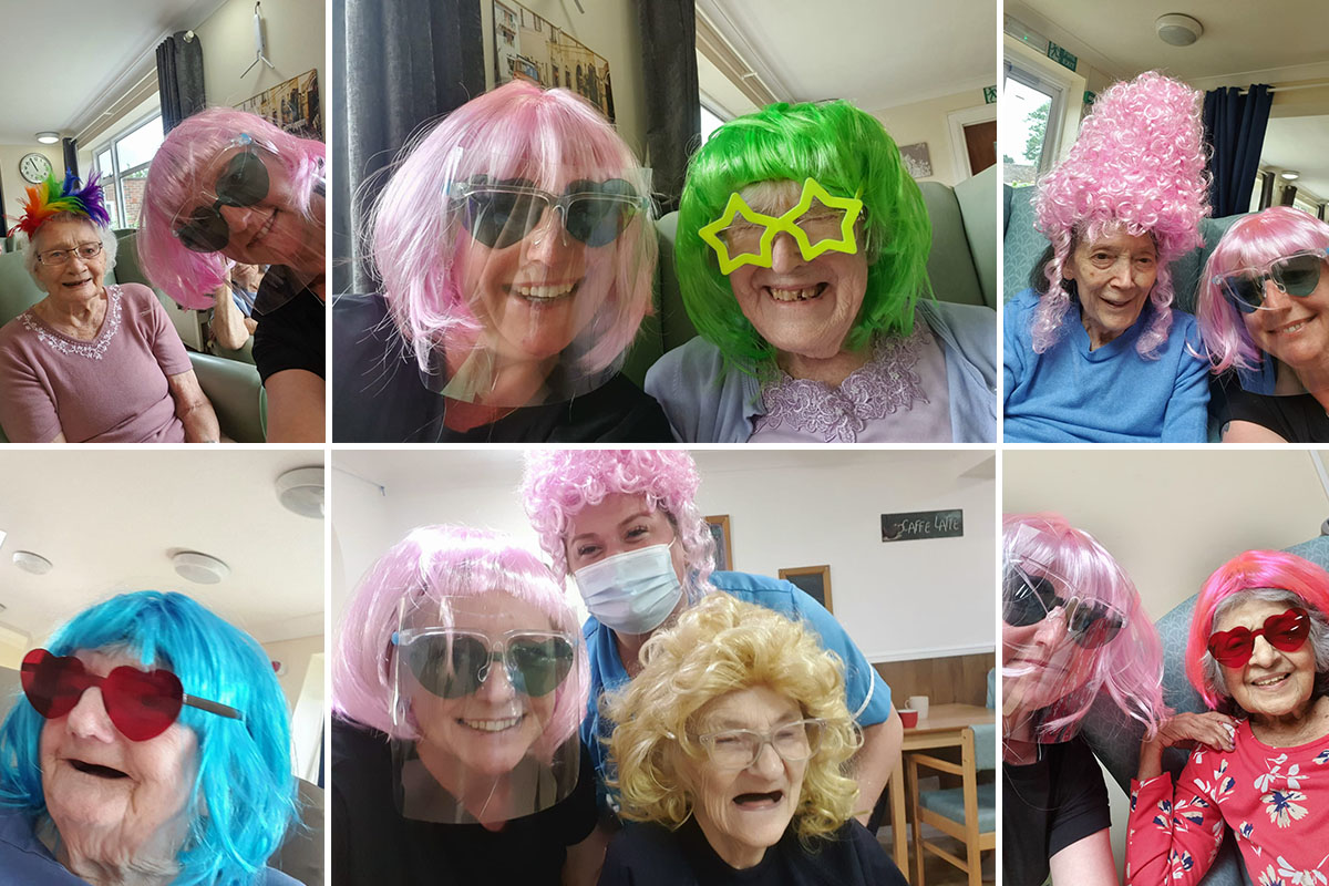 Fun photography at Sonya Lodge Residential Care Home